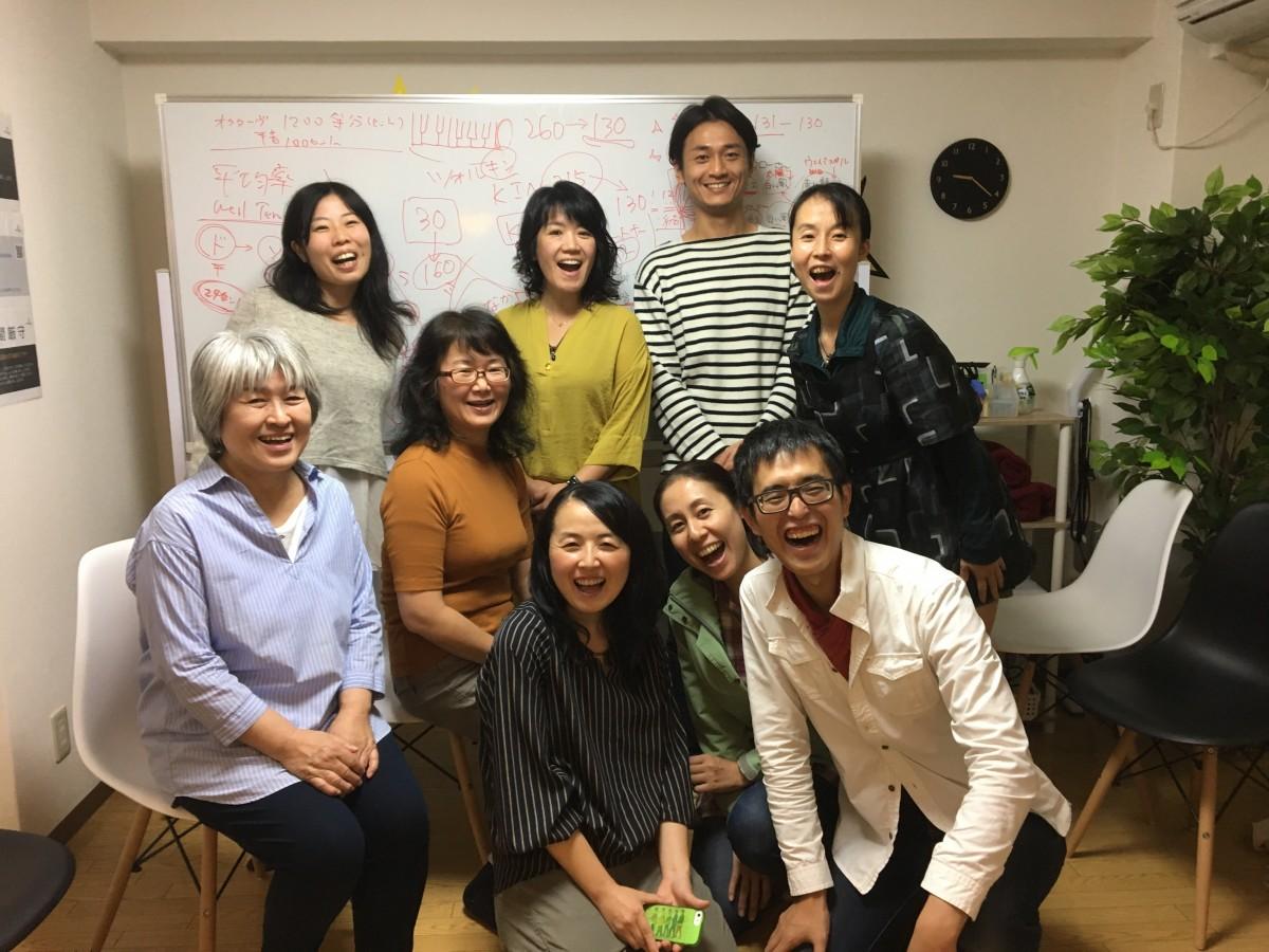 個人レッスン&グループレッスン&ヒビキアワセ@東京